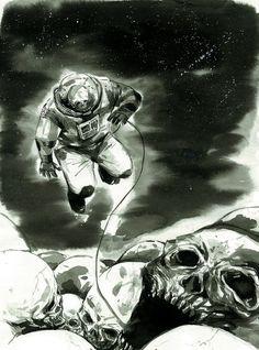 Space Skull by Mak Wa Cheong.