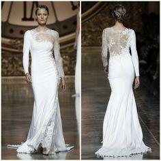 Pronovias barcelona bridal fashion week 201619