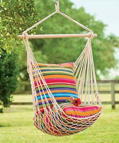 Look what I found on #zulily! Rope Hammock Swing #zulilyfinds