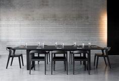 Alain Berteau Designworks   love the concrete wall and floors