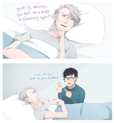 20 yr old. Rolling around in Victuuri hell. I only reblog YOI and Victuuri content. On hiatus from...
