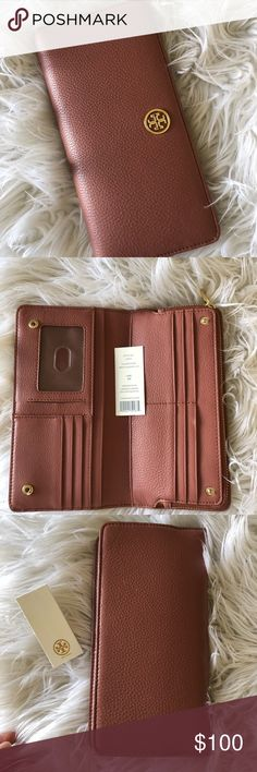 Tory Burch wallet large New Tory Burch wallet  Dusky pink Tory Burch Bags Wallets