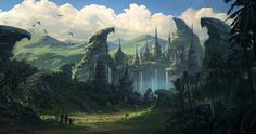 Lost City, Todor Hristov on ArtStation