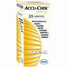 Roche Accu Chek Softclix 25lancets