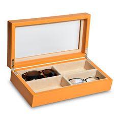 Artículos de piel. #CajaParaLentes, perfecta para ordenar tus lentes.  #ArticulosDePiel #Leather #Handmade #artisan #Artesanos