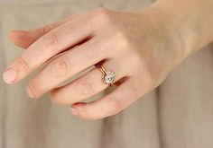 Romantic Engagement Ring Trends for 2018 on Etsy