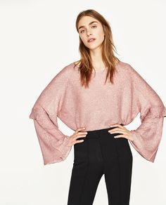 Image 2 of SEQUINNED SWEATER from Zara