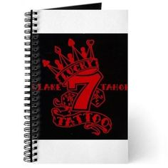 Journal available online at www.cafepress.com/lucky7tattooandpiercing