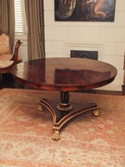 An English William IV Rosewood Table $5,400