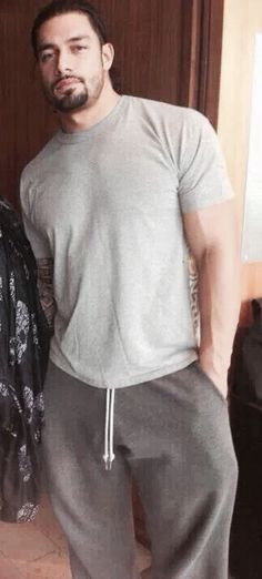 look sexy in sweats,heck looks sexy in anything