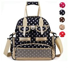 (31.98$)  Watch more here - http://ai7um.worlditems.win/all/product.php?id=32624766047 - New Fashion Baby Diaper Backpack Shoulders Baby Maternity Mother Bag Baby Diaper Nappy Changing Bag Stroller Bag Multifunctional