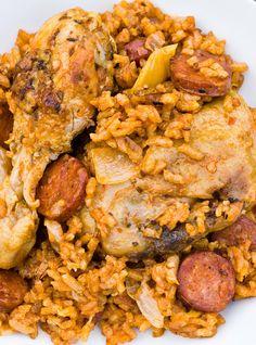 Riz au poulet et chorizo d'Ethné de Vienne