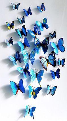 papillon bleu - Recherche Google