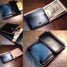 いいね!263件、コメント13件 ― Takayuki_Sugieさん(@jhm_leathers)のInstagramアカウント: 「JHM money clip. cordovan. #マネークリップ #札ばさみ #レザークラフト #ハンドメイド #手縫い #leatherwork #leathercraft #handmade…」