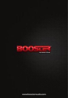 Catalogo Booster 2012  Catalogo Booster 2012 editado el 24 de FEB 2012