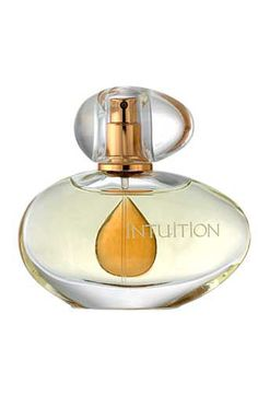 Estée Lauder Intuition From a sparkling beginning, Intuition unfolds on your skin with warmth, femininity and sensuality. Fragrance Type: Luminous Asian. Top Notes: Mandarin, Bergamot, Grapefruit, Fresh Green Garden. Middle Notes: Gardenia Petal, Freesia, Chinese Rhododendron. Base Note: Amber.