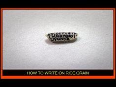 RICE GRAIN ART