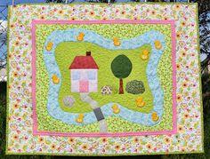 Hand Made by Vave: patchwork: Deka pro Vanessku