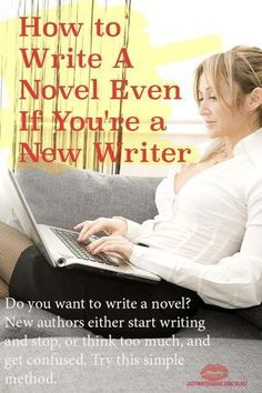 Do you want to write a novel? New authors either start writing and stop, or think too much, and get confused. Try this simple method. Book Writing Tips, Writing Quotes, Writing Resources, Start Writing, Writing Skills, Writing Prompts, Writing Ideas, Easy Writing, Writer Tips