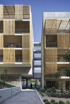 Gallienice 138 logements et commerces à Nice | Comte Vollenweider Architectes