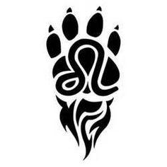 Resultado de imagen para tribal lion tattoo strength
