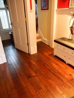 Builddirect Engineered Hardwood Handsed Mixed Widths Collection Maple Antique Hallway View