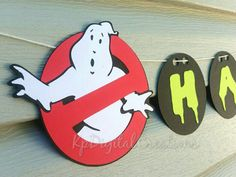 Check out this item in my Etsy shop https://www.etsy.com/listing/262819091/ghostbusters-ghostbusters-birthday