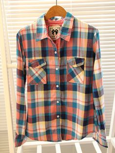 Autumn/winter  new thickened sueding pure cotton long sleeve ladies/check/Plaid Shirt shirt tri-color