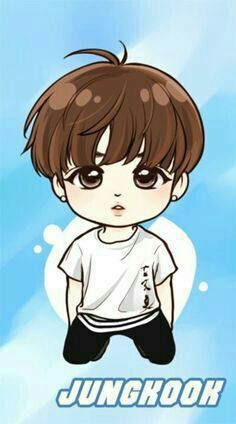 Find images and videos about kpop, bts and jungkook on We Heart It - the app to get lost in what you love. Jungkook Fanart, Jungkook Cute, Kpop Fanart, Bts Bangtan Boy, Jimin, Bts Chibi, Anime Chibi, Foto Bts, Bts Anime
