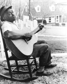 Mississippi John Hurt was a pioneer on that Guitar, waited for his mom's boyfriend and her to turn in to sneak his guitar and teach himself how to play. - Avalon is my hometown, always on my mind... beautiful country blues style picking guitar.  His grave is in the woods on the hillside of the Delta, still had full cans of beer and money on it - no one touches it.