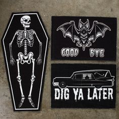Hearse Rug by Sourpuss (Sourpuss). We're always looking for ways to impart our morbid sensibilities to your haunted home, and our Hearse Rug will do just that! Featuring a durable tight-loop Goth Home Decor, Farmhouse Side Table, Gothic House, Cool Rooms, Decoration, Living Room Designs, Bedroom Decor, Bedroom Ideas, Wall Decor