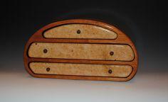Handmade Nadia Style Wooden Jewelry Box  Superb by BurlWoodBox, $375.00