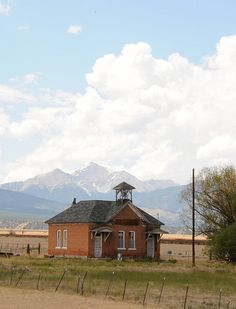 old abandoned schoolhouse