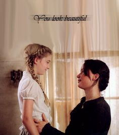 Prim & Katniss.... this makes you sad if you've finished the third book.