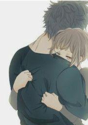 Anime Couples I love you Babu Mai Apke Bina Ni Reh Paunga 1 Mint V Ap Kahi Ni Jana meri jaan Anime Couples Hugging, Romantic Anime Couples, Anime Couples Drawings, Anime Couples Manga, Manga Anime, Romantic Couple Hug, Anime Couples Cuddling, Couple Hugging, Image Couple
