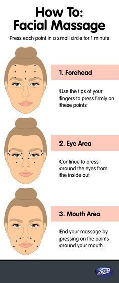 how to give yourself a facial