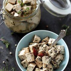 Vegan Tofu Feta Cheese (New and Improved!)