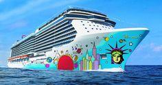 Norwegian Breakaway!  Pinned from Norwegian Cruise Line #cruise #cruiseabout