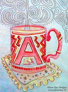 Mug by Alison Day