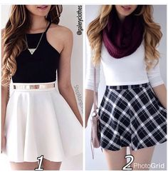 Cool outfits comment 1 or 2 I love both