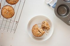 Healthy Banana Coconut Muffins - Cookie and Kate (I made with a flax egg and turned out beautiful and Vegan)