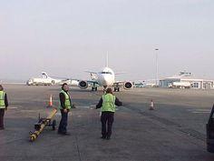 Arrival Dublin Airport BMI Baby Flight