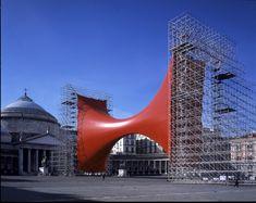 Anish Kapoor, Taratantara, 2000 Naples Installation