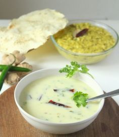 Gujarati Kadhi Recipe, Kadhi Recipe: How to make Gujarati Kadhi at home. Easy gujarati kadhi recipe with sugar and yogurt. Fried Fish Recipes, Veg Recipes, Indian Food Recipes, Vegetarian Recipes, Cooking Recipes, Recipies, Gujarati Cuisine, Gujarati Recipes, Gujarati Food