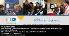 ICE EUROPE 2013 International Converting Exhibition - Exhibition for the Paper, Film and Foil Converting Industry 뮌헨 고기능 필름 가공/고기능 필름 가공/라벨링/포장인쇄 박람회