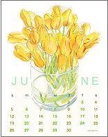 Ling Chang floral calendars