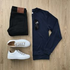 100 Best Smart Casual Outfit Ideas for Men This Year - The Hust Best Smart Casual Outfits, Stylish Mens Outfits, Stylish Clothes, Business Casual Men, Men Casual, Casual Chic, Look Jean, Men With Street Style, Herren Outfit