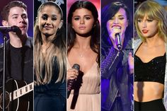 Is Ariana Grande, Demi Lovato, Selena Gomez, Taylor Swift, 5 Seconds of Summer, Nick Jonas, or Ed Sheeran your guide to the new year?