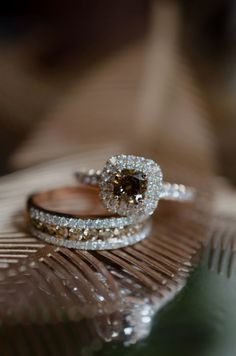 Chocolate diamond rings