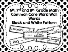Common Core Mini-Posters for Ratio & and Proportion from